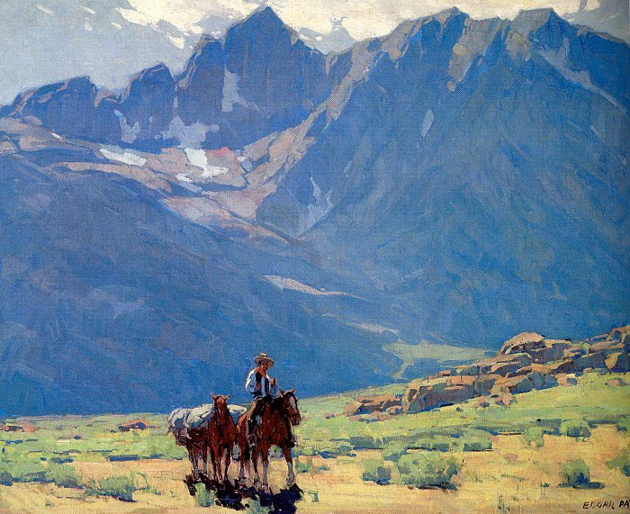 Edgar Payne, Mountains