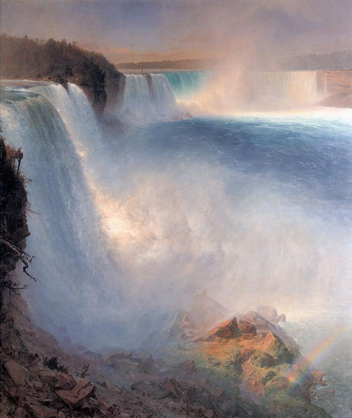 Frederic Edwin Church, Niagara Falls from the American Side, 1867
