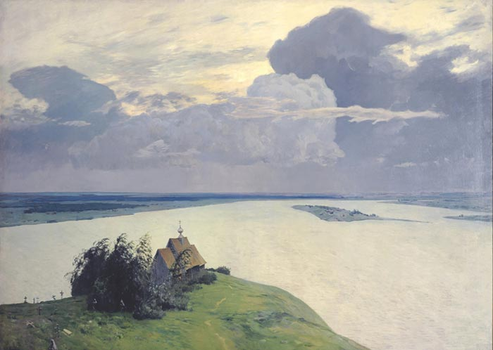 Isaac Levitan, Eternal Rest, 1894