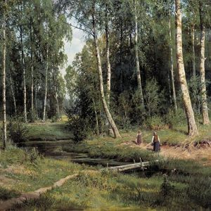 Ivan Shishkin, In the Birch Tree Forest, 1883