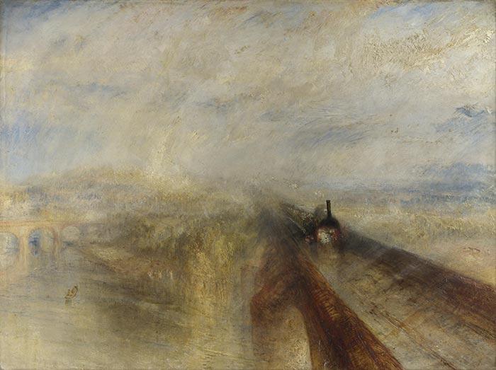 J.M.W. Turner, Rain, Steam and Speed – The Great Western Railway, 1844