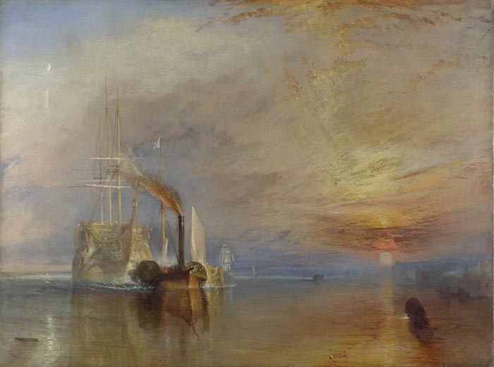 J.M.W. Turner, The Fighting Temeraire, 1838