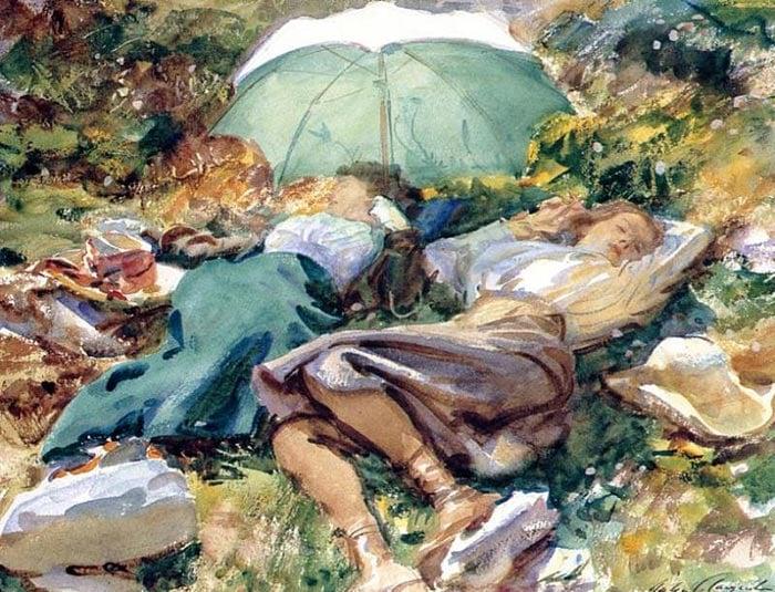 John Singer Sargent, Siesta, 1907