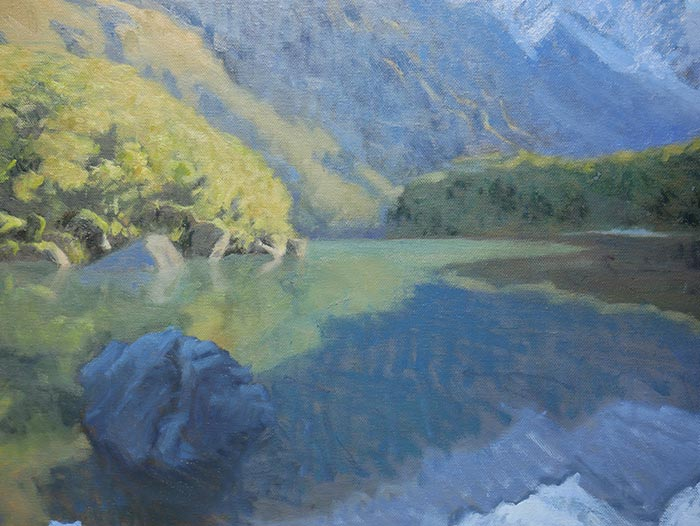 New Zealand Reflections - Close-Up