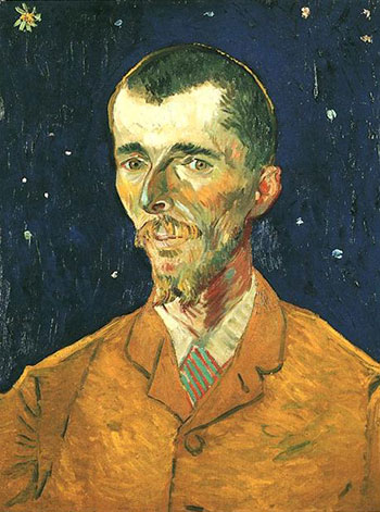 Vincent van Gogh, Portrait of Eugène Boch (The Poet), 1888