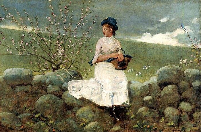 Winslow Homer, Peach Color, 1878