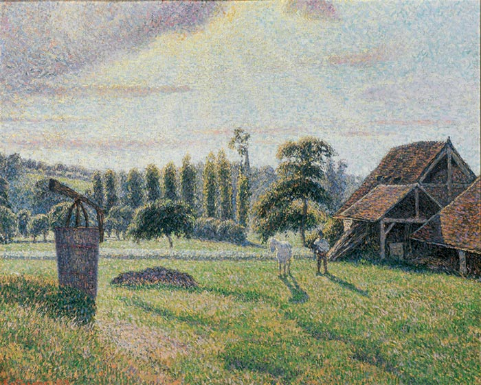Camille Pissarro, Brick Factory Deepali in Eragny, 1888
