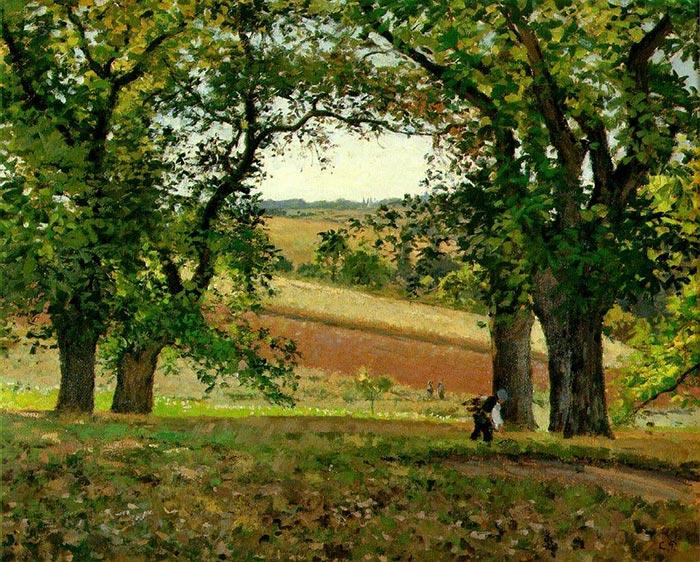 Camille Pissarro, Chestnuts, 1873