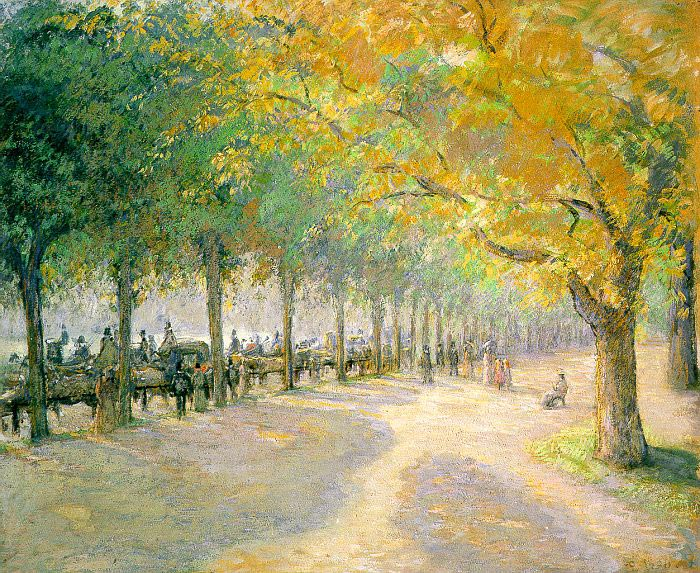 Camille Pissarro, Hyde Park, London, 1890
