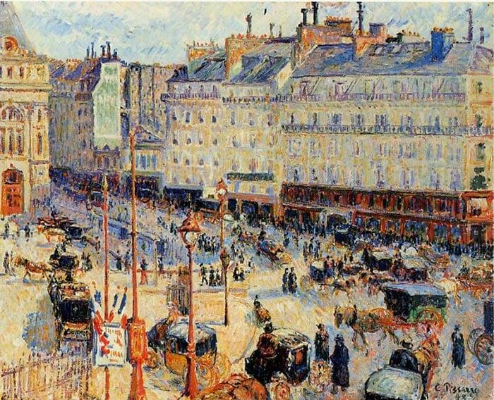 Camille Pissarro, Place du Havre, Paris, 1893