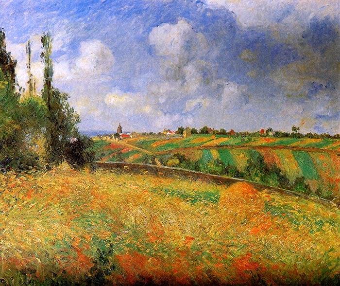 Camille Pissarro, Rye, Pointoise, 1877