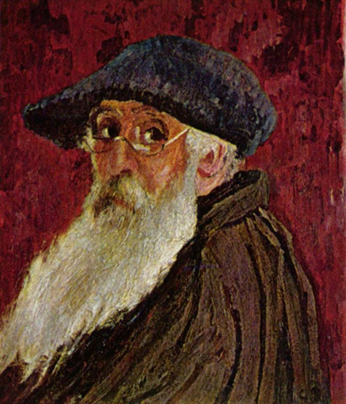 Camille Pissarro, Self-Portrait, 1898