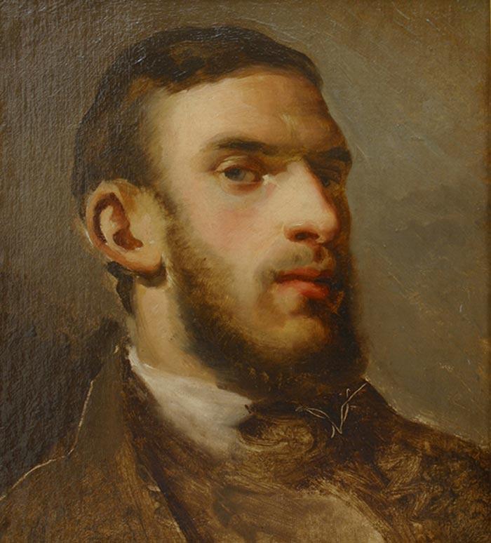 Camille Pissarro, Self-Portrait, c.1857-58