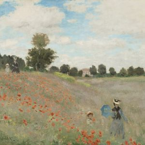 Claude Monet, The Poppy Field, 1873