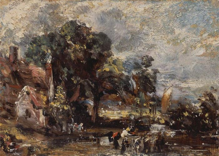 John Constable, Study for The Hay Wain c.1820