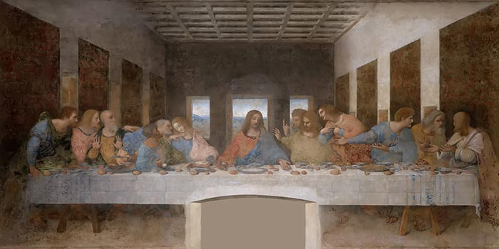 Leonardo da Vinci, The Last Supper, c.1495-98
