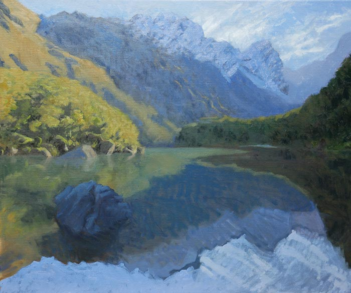 New Zealand Reflections, Step-by-Step (13)