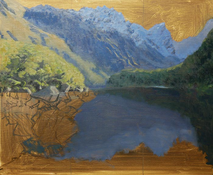 New Zealand Reflections, Step-by-Step (8)