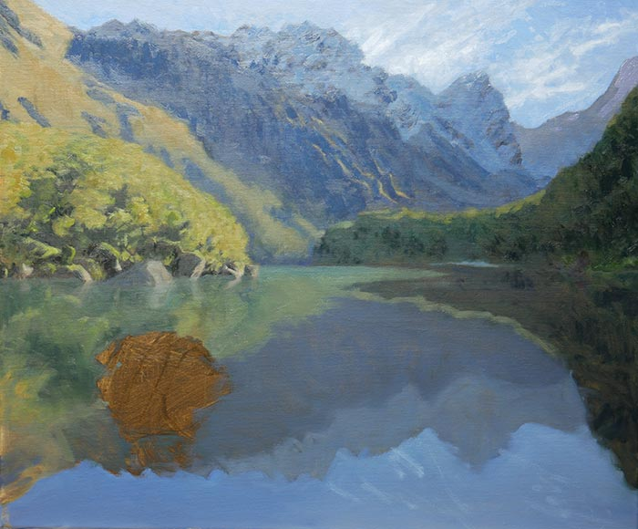 New Zealand Reflections, Step-by-Step (9)