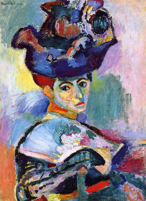 Henri Matisse, Woman with a Hat, 1905