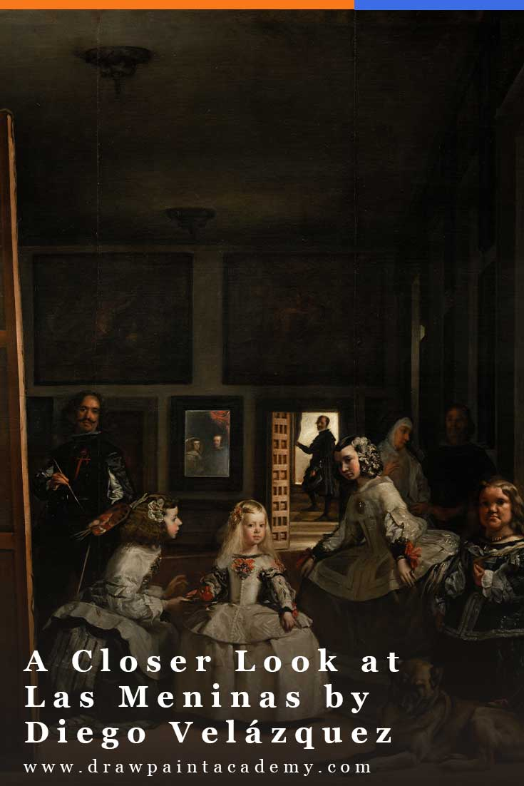 In this post, I take a closer look at the remarkably sophisticated Las Meninas by Diego Velázquez. #drawpaintacademy