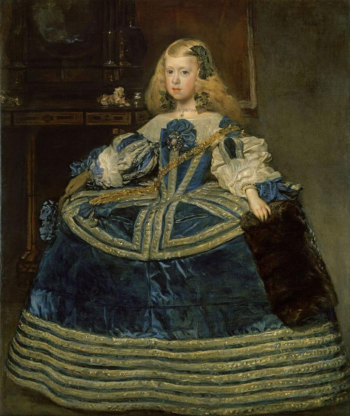 Diego Velázquez, Infanta Margarita Teresa in a Blue Dress, 1659