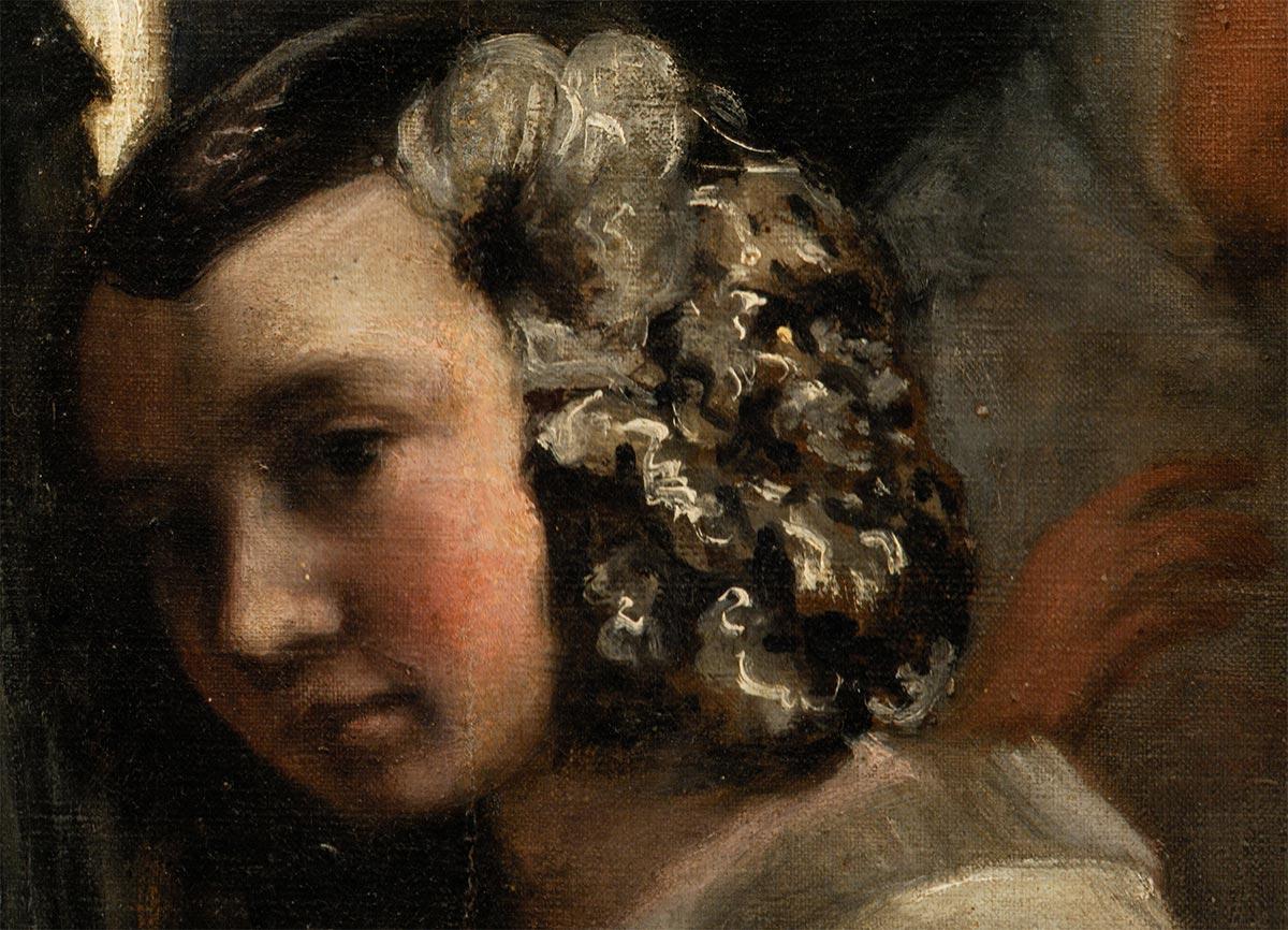 Diego Velázquez, Las Meninas, 1956 (Close-Up 4)