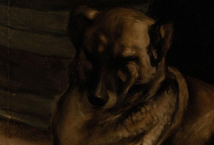 Diego Velázquez, Las Meninas, 1956 (Close-Up 7)