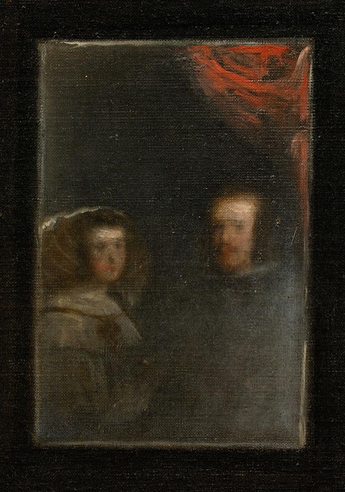 Diego Velázquez, Las Meninas, 1956 (Close-Up 8)