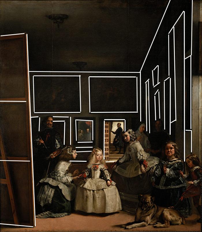 Diego Velázquez, Las Meninas, 1956 (Frame)