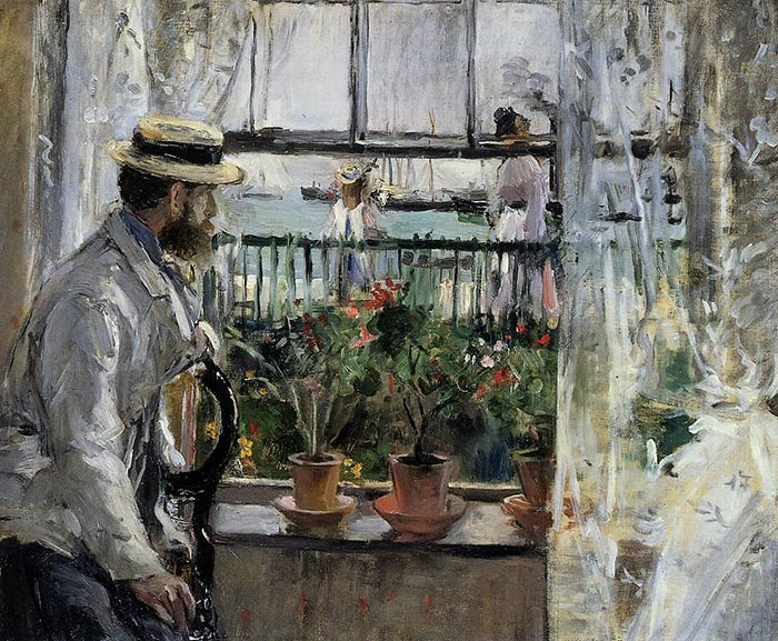 Berthe Morisot, In England (Eugène Manet on the Isle of Wight)
