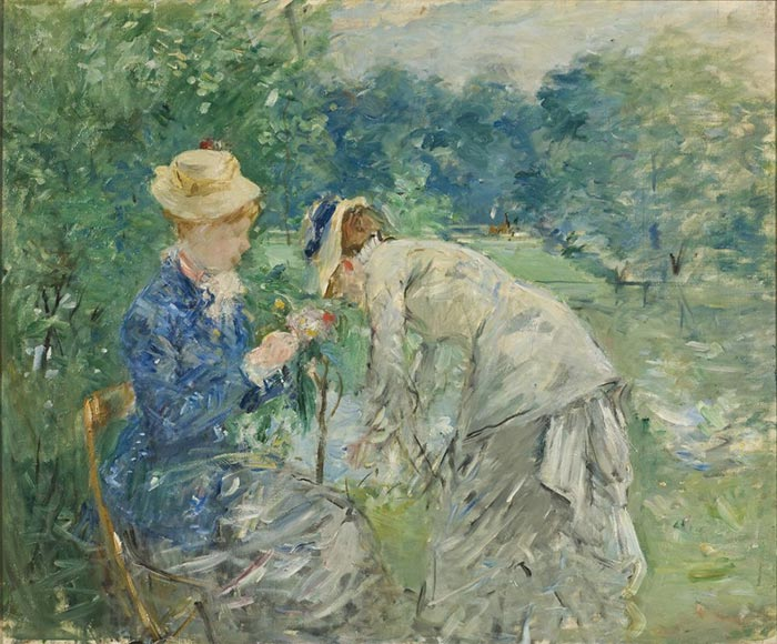 Berthe Morisot, In the Bois De Boulogne, 1880