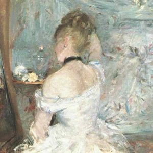 Berthe Morisot, Lady at her Toilette, 1875