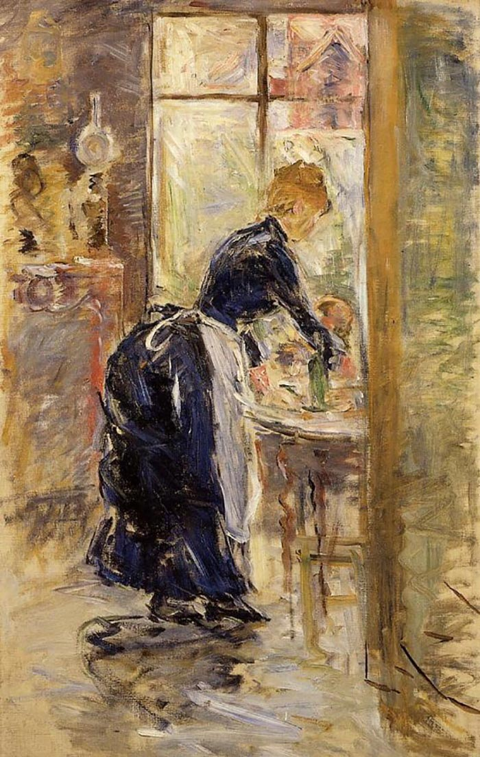 Berthe Morisot, Little Maid, 1886