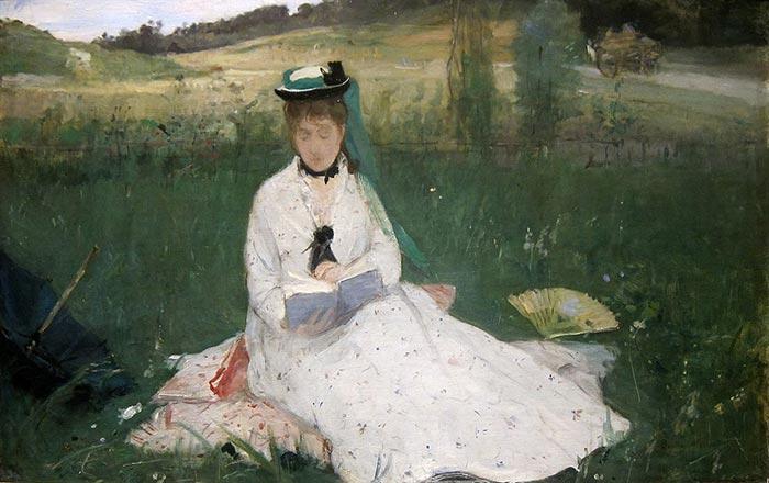 Berthe Morisot, Reading, 1873
