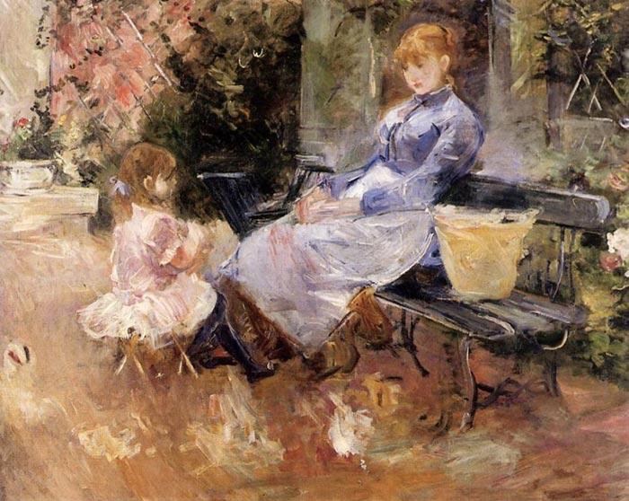 Berthe Morisot, Tale, 1883