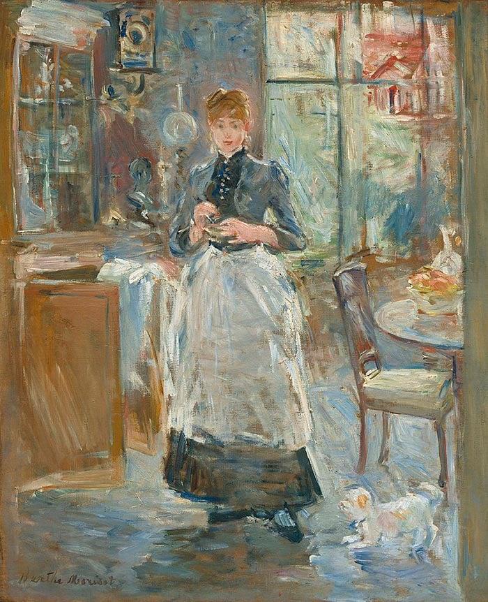 Berthe Morisot, The Dining Room, c.1875