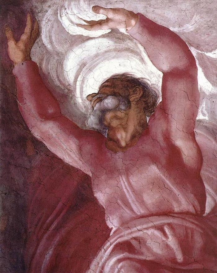 Michelangelo, Sistine Chapel Ceiling, c.1508-12 (Close-Up)