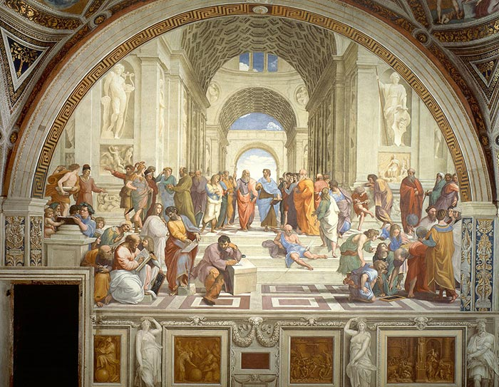 Raphael, The School of Athens, c. 1509-11