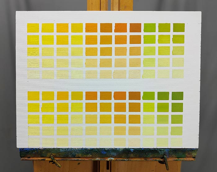 Finished Color Charts (2)