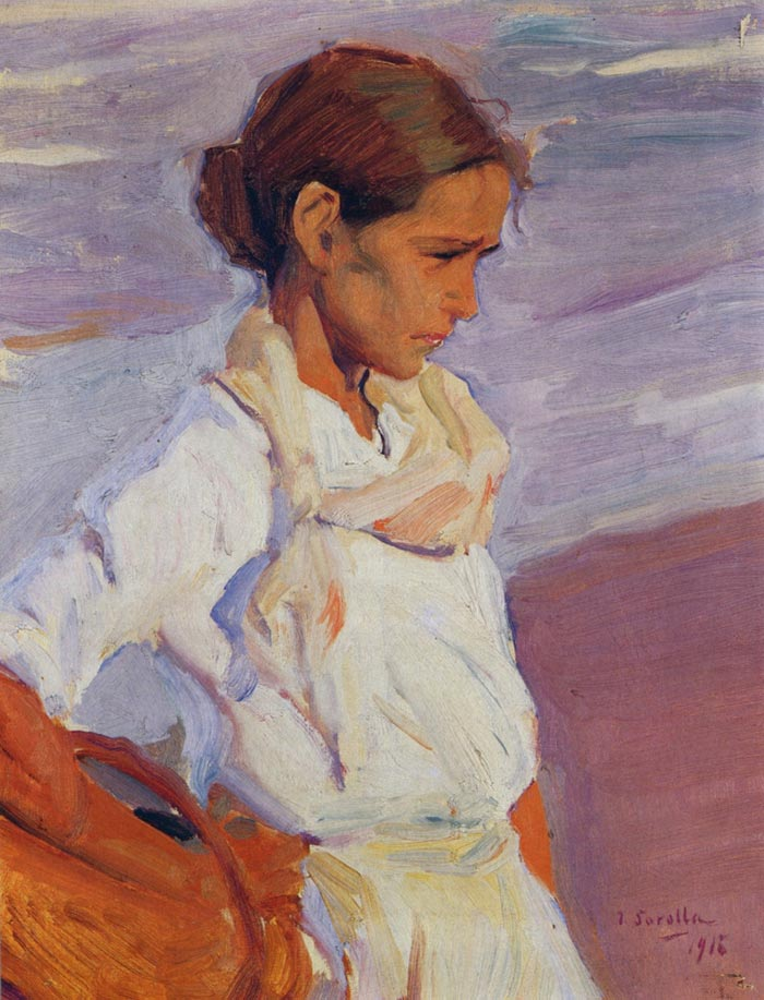 Joaquín Sorolla, Fisherwoman From Valencia, 1916