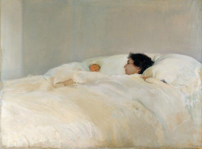 Joaquín Sorolla, Mother, 1900