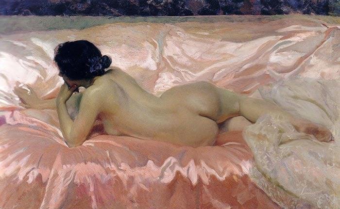 Joaquín Sorolla, Nude, 1902