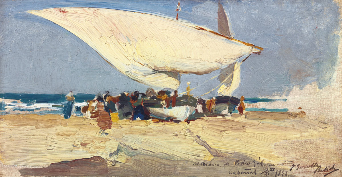 Joaquín Sorolla, Return From Fishing, 1898