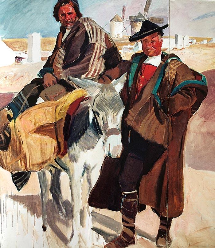 Joaquín Sorolla, Types of La Mancha, 1912