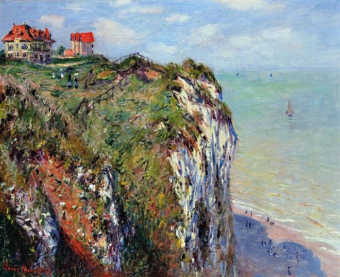 Impressionism - Claude Monet, Rock in Dieppe, 1882