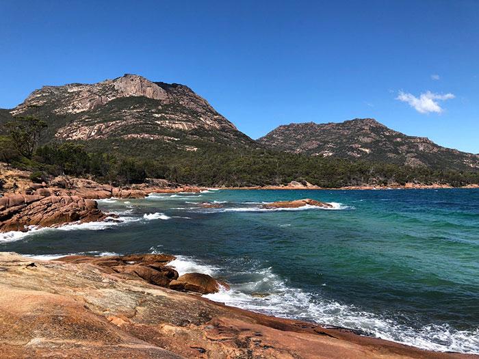 1902, Tasmania, Honeymoon Bay, Freycinet