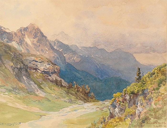Edward Theodore Compton, Tauernmoos, 1914