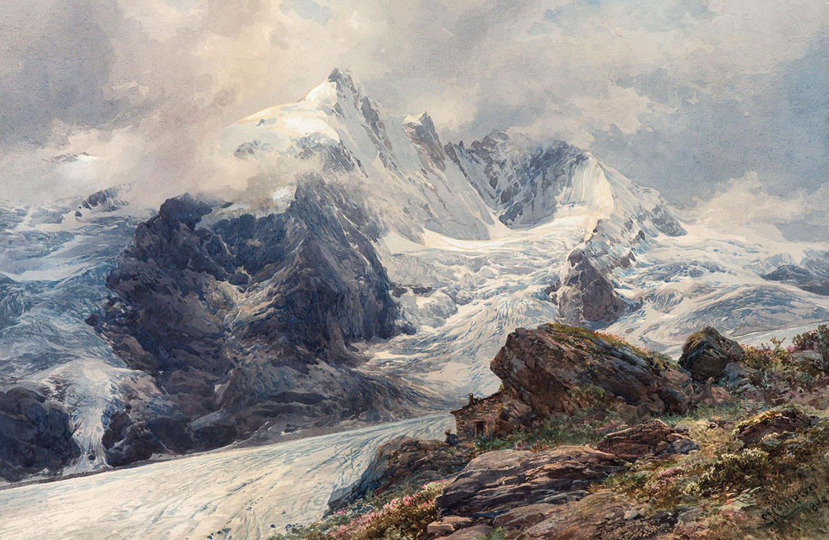 Edward Theodore Compton, The Grossglockner, 1880
