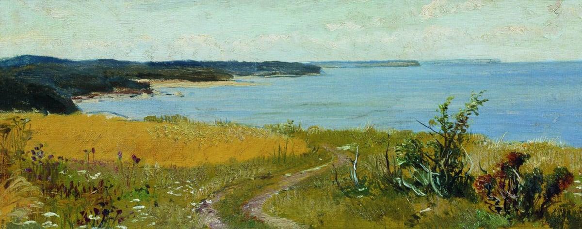Ivan Shishkin, A View of the Beach